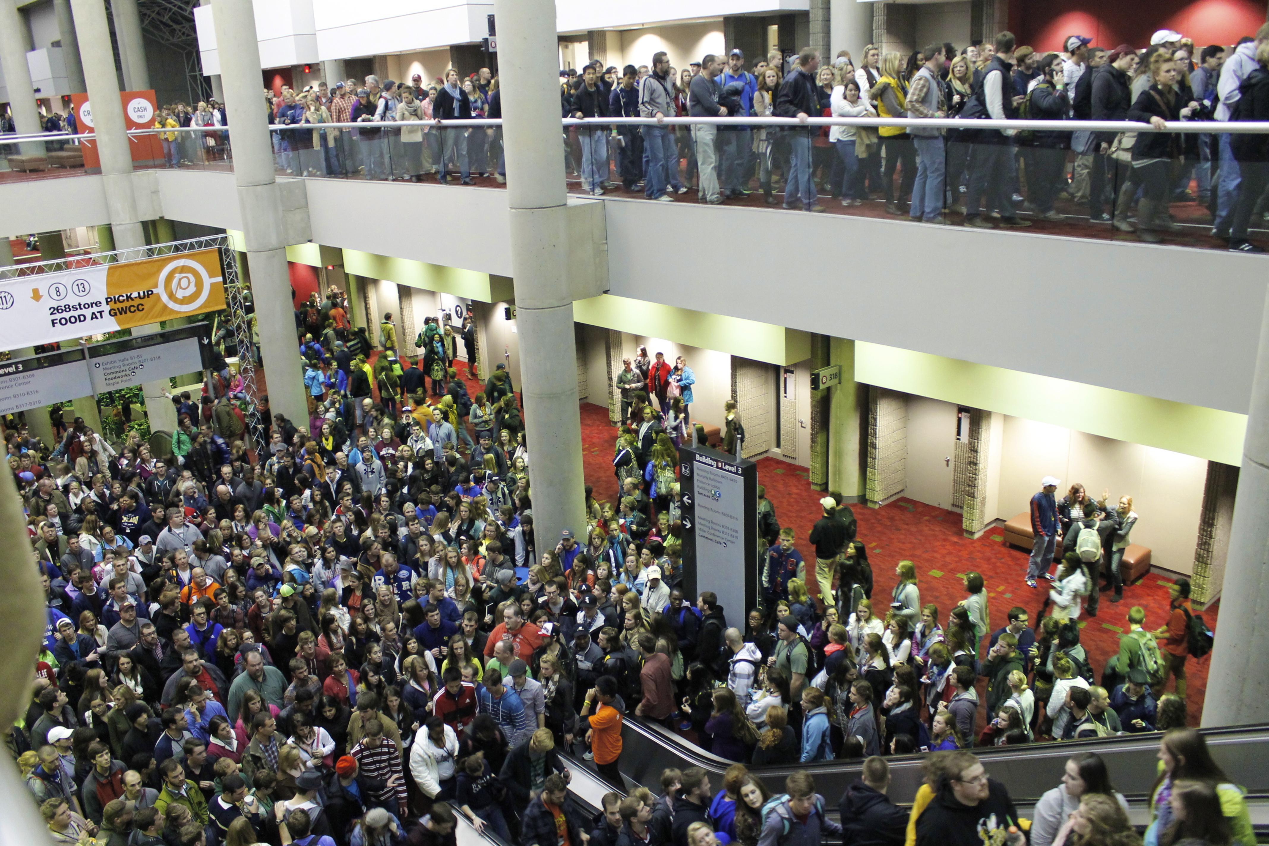 Georgia World Congress center Living a life that Matters