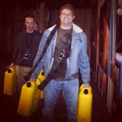 Participating in a water walk at Passion 2010